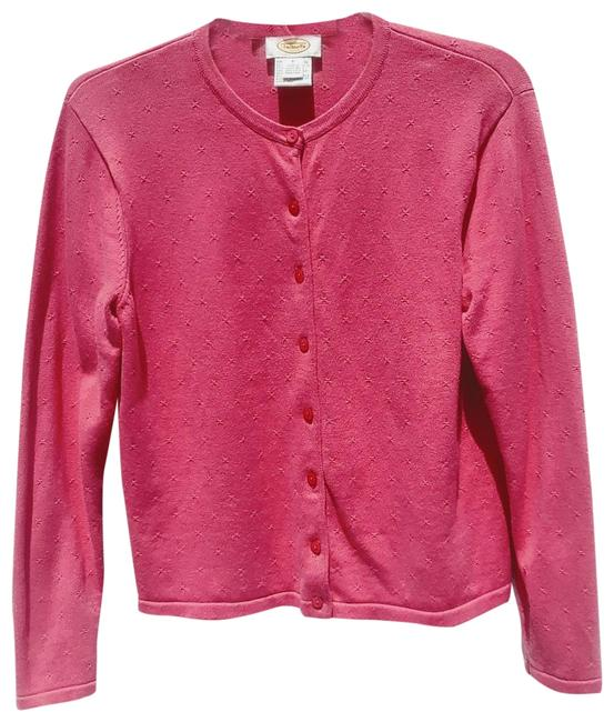 Item - Pink Button Front Cardigan Size 6 (S)