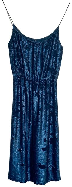Item - Navy Collection Sequin Cocktail Short Formal Dress Size 2 (XS)