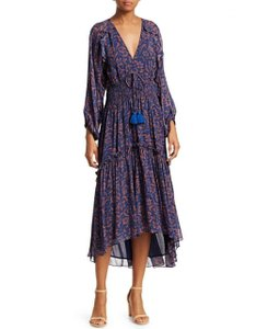 Blue Maxi Dress by Figue Bohemian Maxi Eclectic