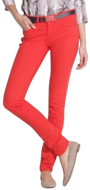 Item - Red 28x32 Skinny Jeans Size 28 (4, S)