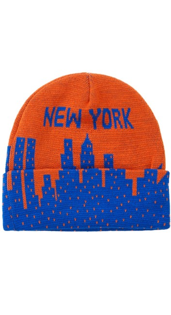 Item - Orange New York Beanie Hat