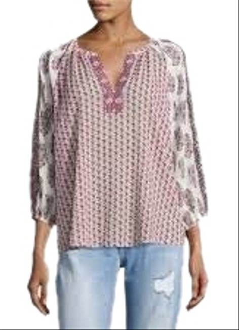 Item - Red Randiegh Blouse Size 6 (S)