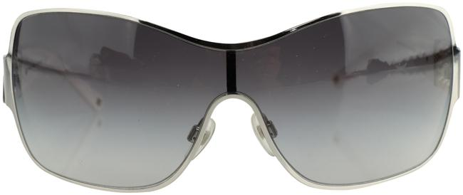 Item - White Over Sized Pearl Sunglasses