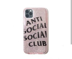 Anti Social Social Club Anti Social Social Club No Texts Pink iPhone Case