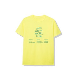 Anti Social Social Club T Shirt Green