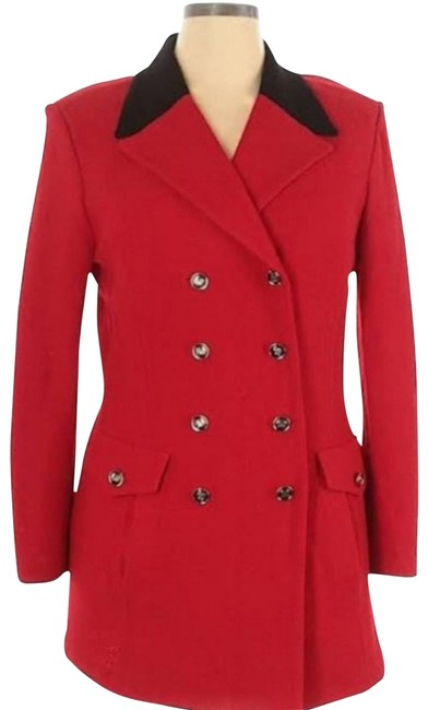 Item - Red and Black By Marie Gray Jacket Size 4 (S)