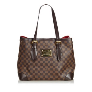 Louis Vuitton 0elvto026 Vintage Leather Tote in Brown