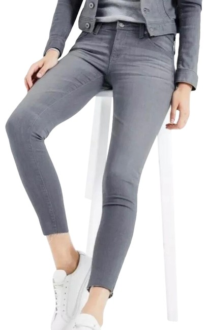 Item - Gray The Legging Ankle Super Skinny Jeans Size 2 (XS, 26)