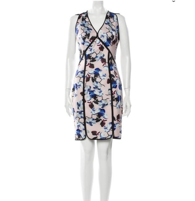 Item - Scuba Floral Short Casual Dress Size 4 (S)