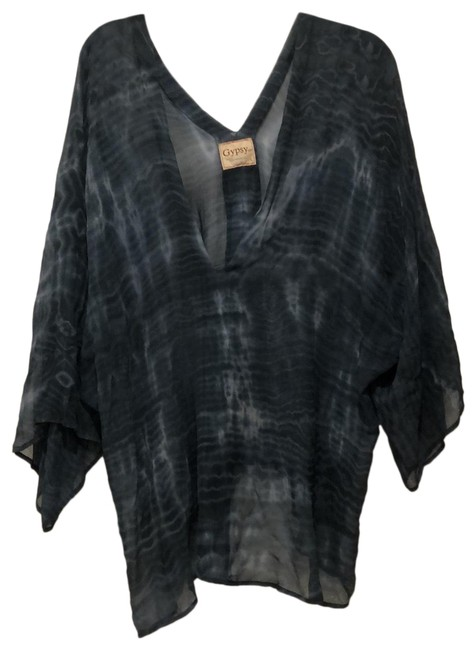 Item - Blue Tie Dye I've Worn As Cover Up Tunic Size 12 (L)