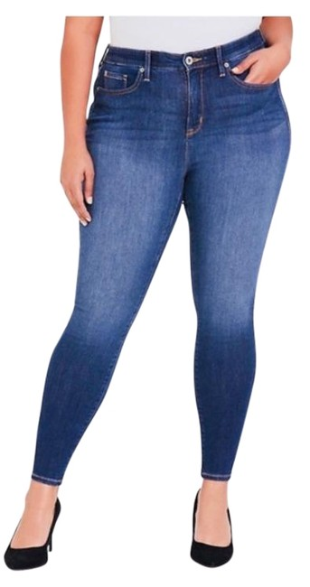 Item - Blue Medium Wash Slim Fix Collection Skinny Jeans Size 20 (Plus 1x)