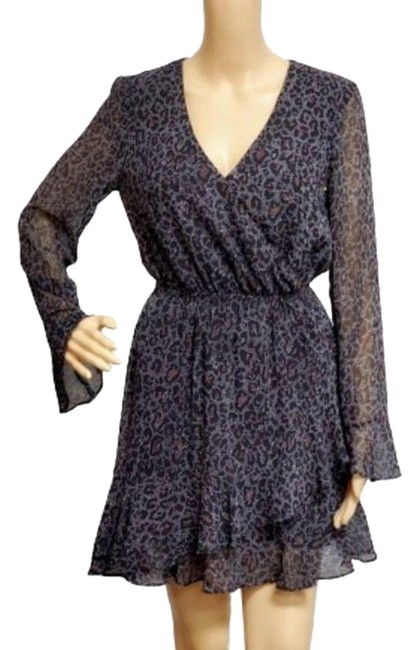 cupcakes and cashmere Multicolored Amity Speckled Print Short Casual Dress Size 0 (XS) cupcakes and cashmere Multicolored Amity Speckled Print Short Casual Dress Size 0 (XS) Image 1