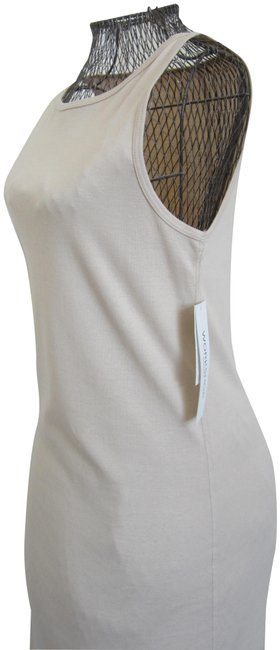 Item - Natural Mid-length Short Casual Dress Size 6 (S)