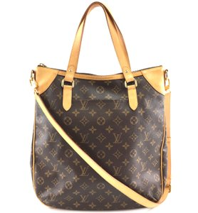 Louis Vuitton Discontinued Odeon Gm Monogram Shoulder Bag