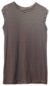 Rip Curl short dress Black and White Striped on Tradesy