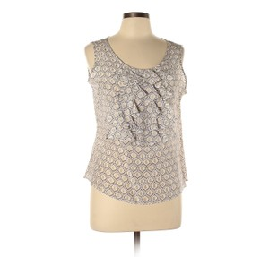 Doncaster Top Tan and White