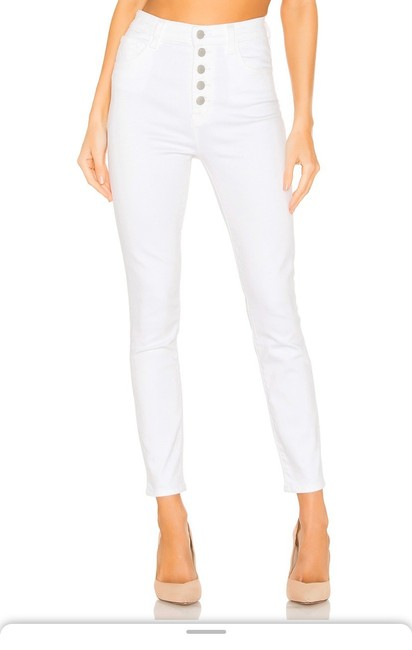 Item - White Coated Lili Skinny Jeans Size 10 (M, 31)