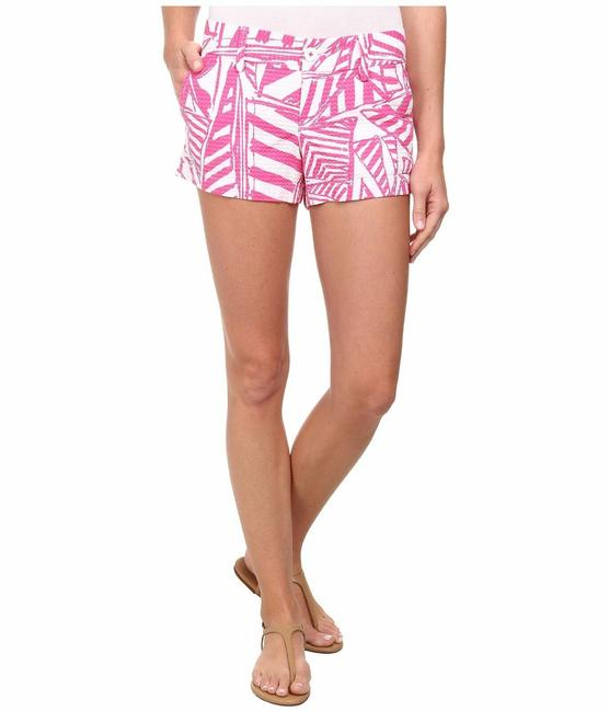 Item - Pink White Capri Yacht Sea Textured Callahan Shorts Size 6 (S, 28)