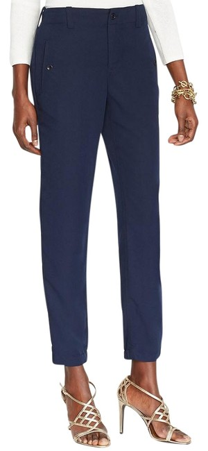 Item - Blue Sueded Viscose Blend Twill Ankle 22w Pants Size 22 (Plus 2x)