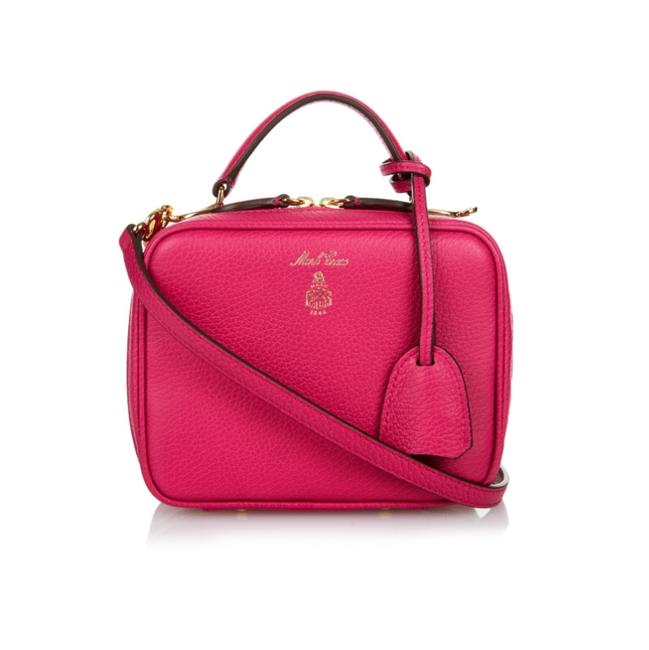 Item - Baby Laura Fuchsia Leather Cross Body Bag