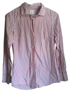 J.Crew Button Down Shirt Barn Red