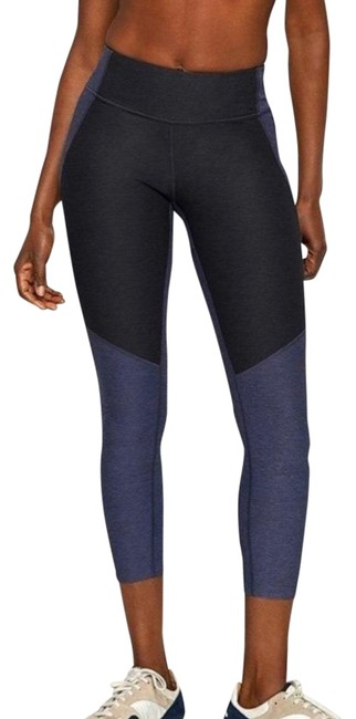 Item - Blue 3/4 Two Tone Activewear Bottoms Size 4 (S)