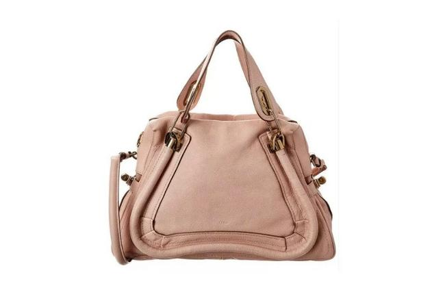 Item - Tote Light Pink Leather Satchel