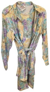 Diane Gilman Diana Gilman Matching Dress and Jacket 100% Silk