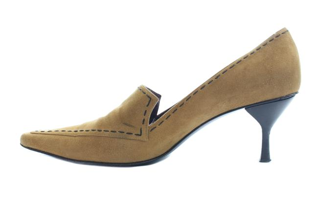 Item - Tan Suede Pointed Pumps Size US 8.5 Regular (M, B)