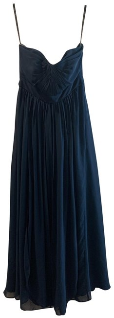 Item - Navy Box 426 In 500-544 Long Formal Dress Size 10 (M)