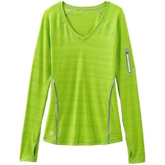 Item - Green Zinger In Bright Key Lime Activewear Top Size 00 (XXS)