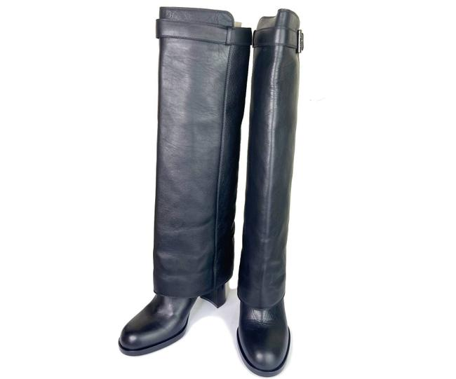 Item - Black Leather Boots/Booties Size EU 36.5 (Approx. US 6.5) Wide (C, D)