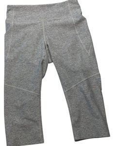 Outdoor Voices Gray Cropped Leggings