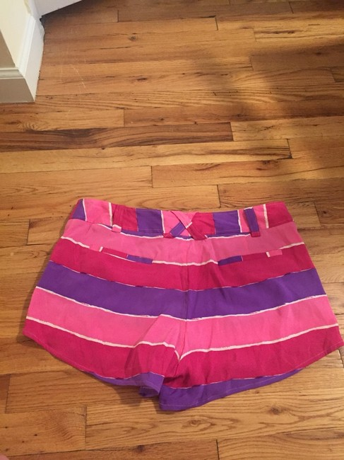 Alice + Olivia Shorts Pink And Purple