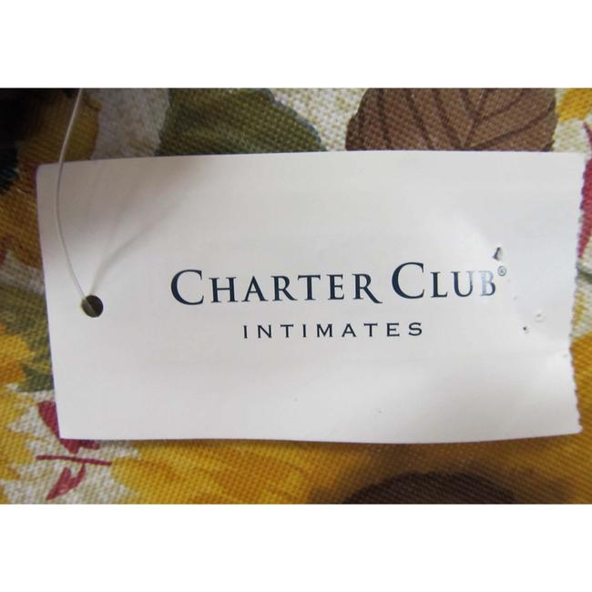 Charter Club Purple Short Dimple Contrast Robe Size Med Charter Club Purple Short Dimple Contrast Robe Size Med Image 3