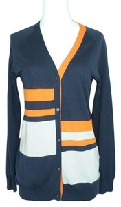 Armand Basi Metallic Color-blocking Cardigan