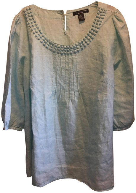 Item - Teal None Blouse Size 22 (Plus 2x)