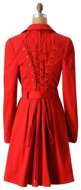 Item - Red Pansy By Elevenses Coat Size 2 (XS)