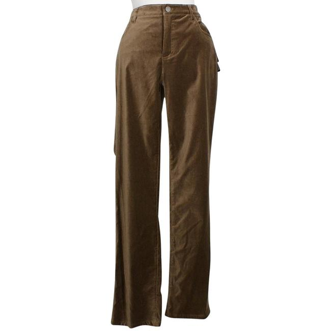 Item - Taupe Stretch Velveteen 5 Pocket Slimming Pants Size 12 (L, 32, 33)