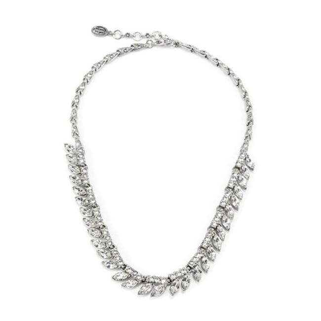Item - Silver Crystal Marquise Necklace