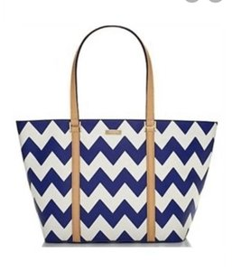 Kate Spade Tote in blue and white
