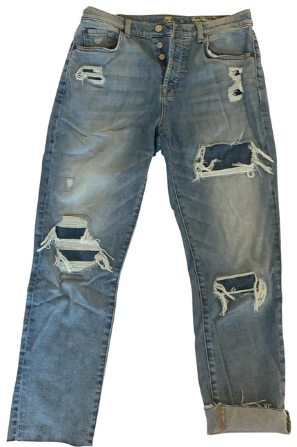 Item - Light Wash Relaxed Fit Jeans Size 4 (S, 27)