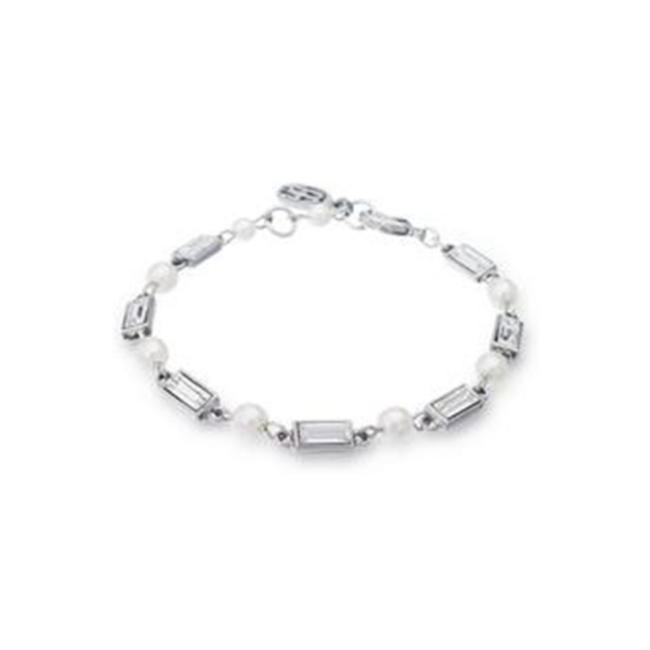 Item - Silver Petite Melody Crystal and Pearl Bracelet
