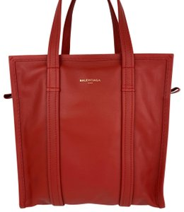Balenciaga Tote in Red