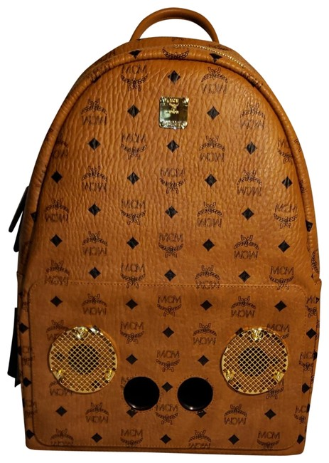 Item - Wizpak In Visetos Brown Leather Backpack