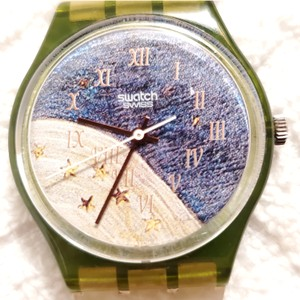 Swatch Vintage Swatch Swiss Made Watch Multicolor Dial