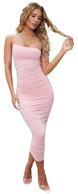 Item - Pink Mid-length Night Out Dress Size 4 (S)
