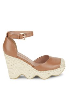 BCBGMAXAZRIA Tan Wedges