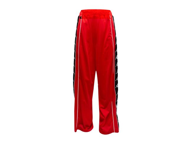 Item - Red & Multicolor Faith Connexion X Track Pants Size 2 (XS, 26)