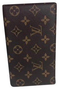 Louis Vuitton Checkbook Cover Passport Case